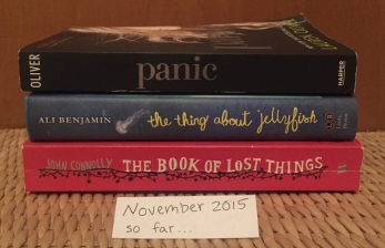 November 2015 + Room, by Emma Donoghue + The Book Thief, by Markus Zuzak