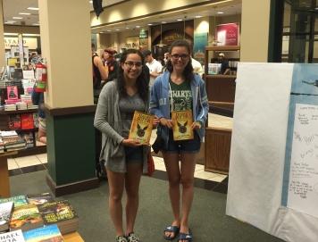 Two very happy Hermiones