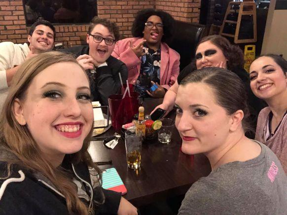 cabaret cast dinner